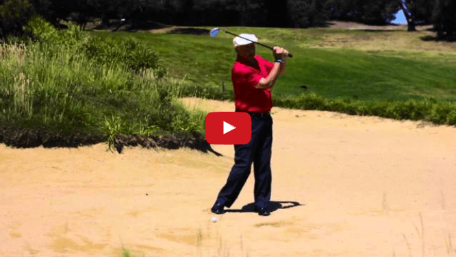 How to Play Very Effective Green Side Bunker Shots