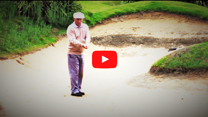 How to Play a Shot from Green Side Bunker with Firm Sand