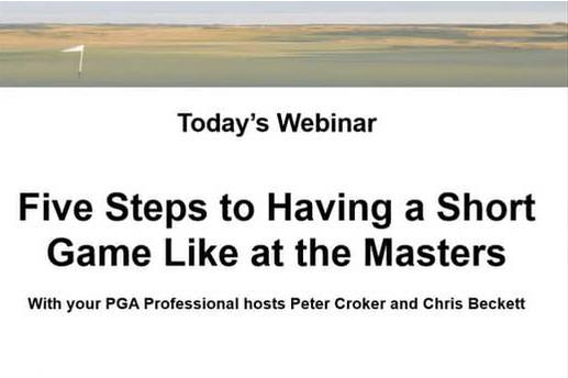 CGS Webinar Presented by Peter Croker and Chris Beckett