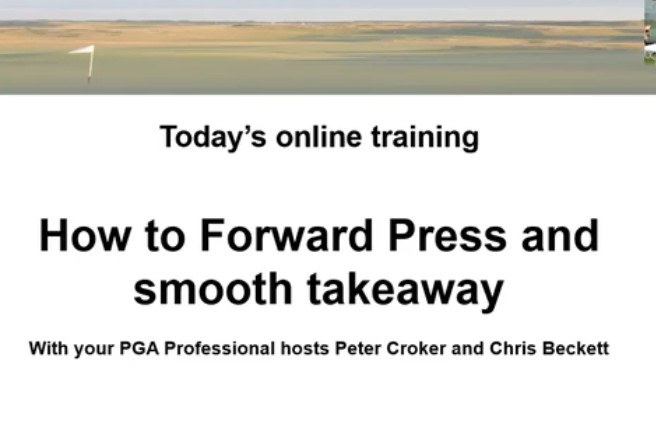 Online Training Video Presented by Peter Croker and Chris Beckett