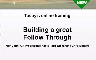Building a Great Follow Through With Peter Croker and Chris Beckett