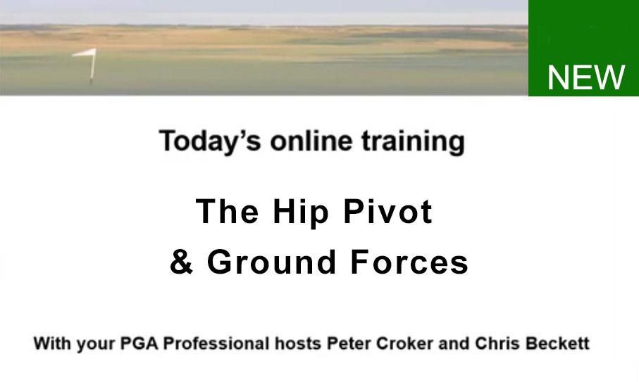 The Hip Pivot and Ground Forces Built and Demonstrated in Incremental Steps