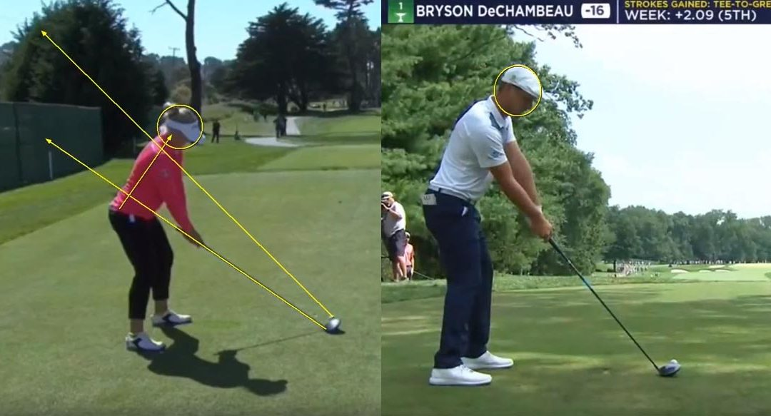 Bryson DeChambeau & Brook Henderson Swing Analysis & Featured Lesson