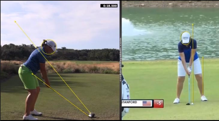 Angela Stanford and Jack Nicklaus Swing Analysis Featured Lesson and More