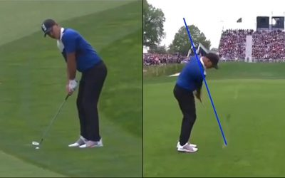 Swing Analysis of PGA winner Brooks Koepka lessons of the week and more