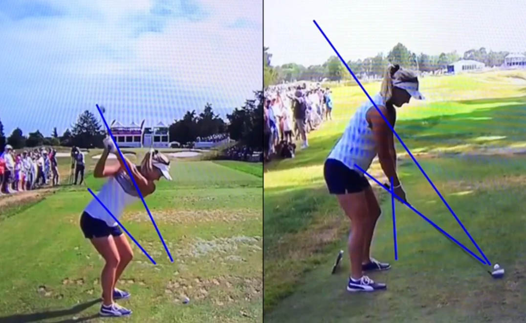 Swing Analysis of Rory McIroy, Lexi Thompson and Rhein Gibson a lesson of the week and more