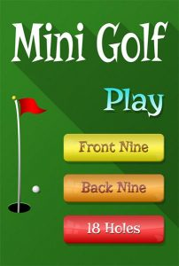 Mini Golf Game