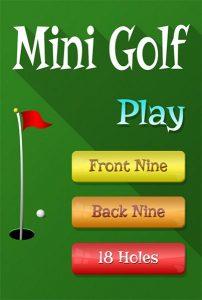 Mini Golf Game