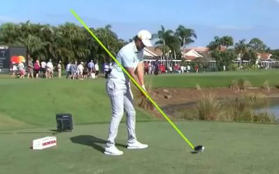 Swing Analysis of Matt Jones and Justin Harding, a lesson of the week, and more. – 25 March 2021